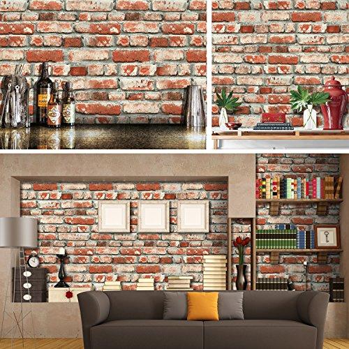 Papel tapiz decorativo para sala habitacion cosina pared - Papel para paredes de cocina ...