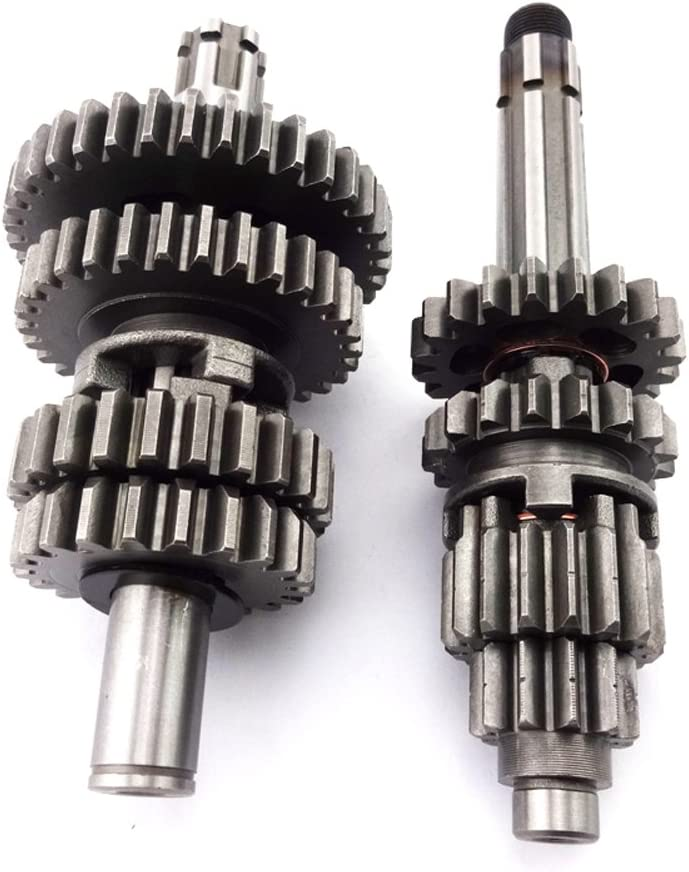 TC-Motor Chinese YX140 YX150 YX160 Transmission Gear Box Main Counter Shaft For YX 140cc 150cc 160cc Engine Pit Dirt Bike Motocross