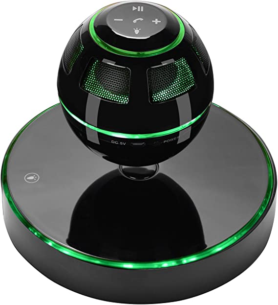 Portable Bluetooth Magnetic Levitation Speaker Floating Rotating Speaker w// NFC
