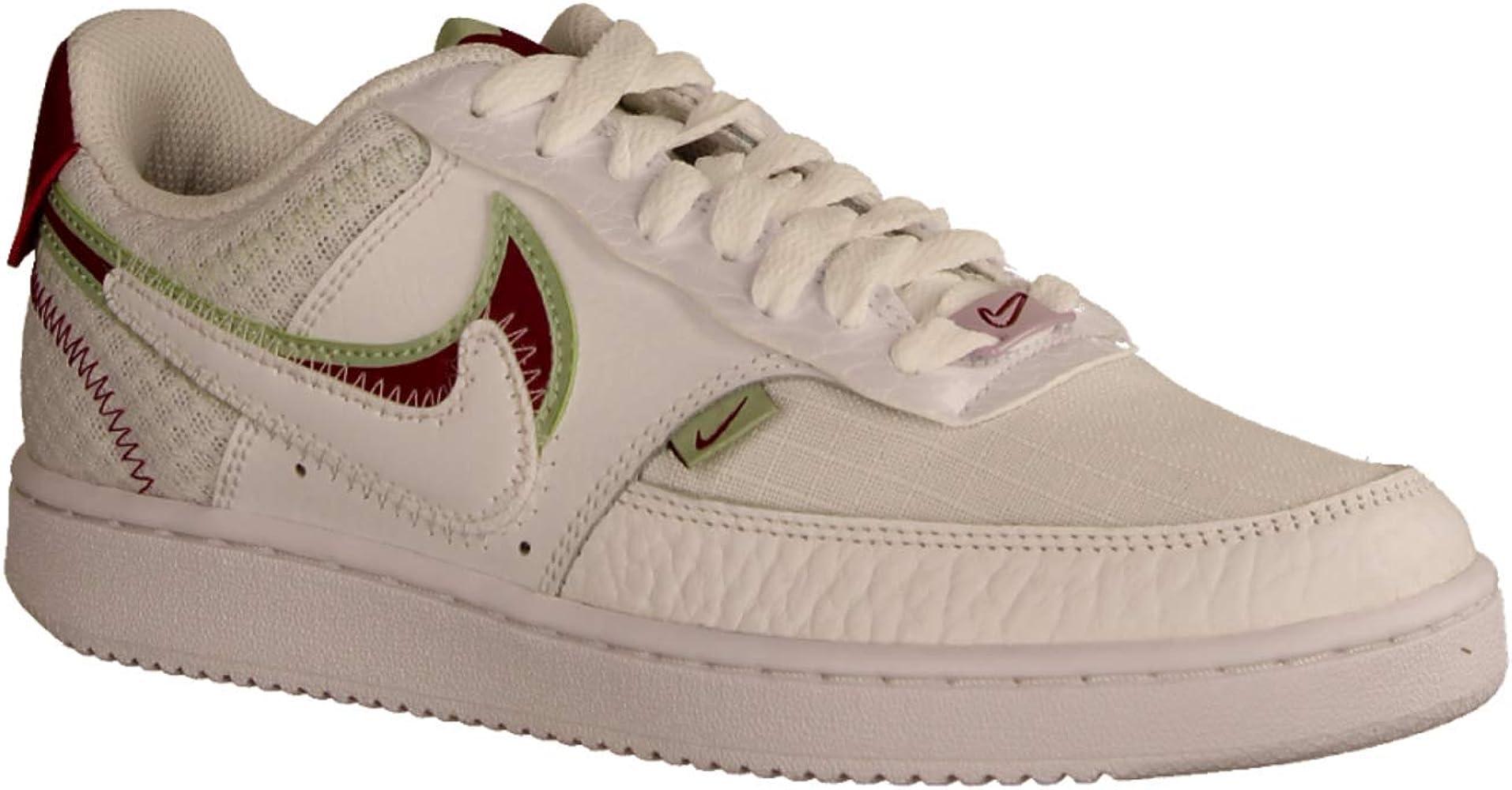 Nike Wmns Court Vision Lo Prmv, Zapatilla De Baloncesto para Mujer ...