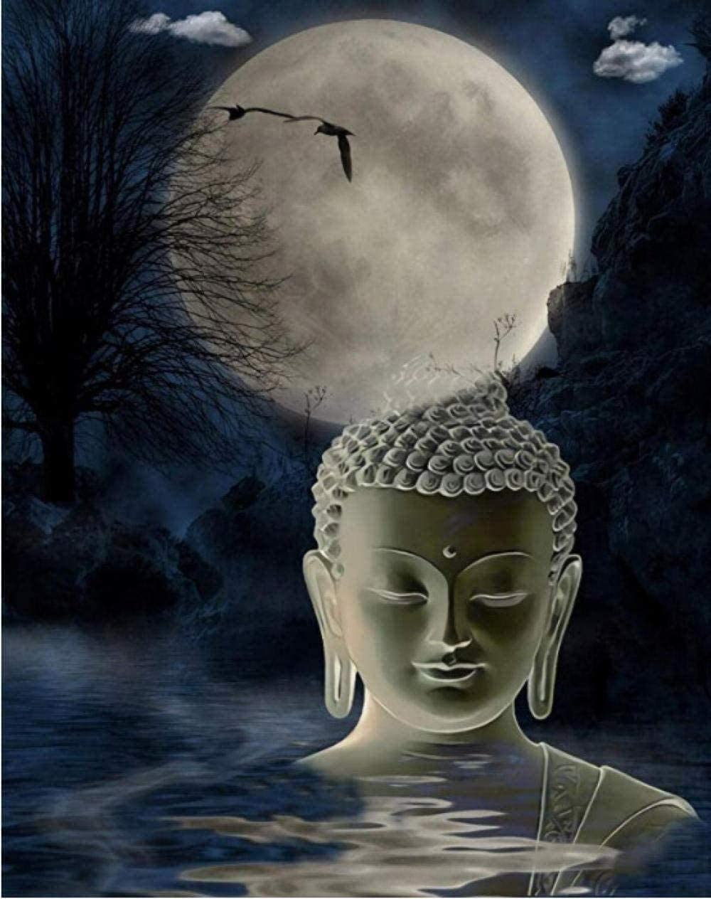 Jigsaw Puzzles for Adults 1000 Piece Moonlight Buddhas Birthday Personality Creative 3D Game DIY Home Decoration