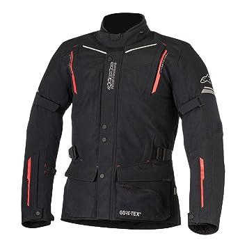 Alpinestars Guayana Mens Gore-Tex chaqueta color negro/rojo LG: Amazon.es: Coche y moto