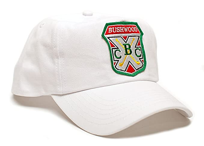 Image Unavailable. Image not available for. Color  Bushwood Hat Country  Club Caddyshack Movie One Size Baseball Cap White 2e7de0561b05