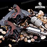 2 PCS Compass Tattoo Machine Tahiti Liner Portland Shader Iron
