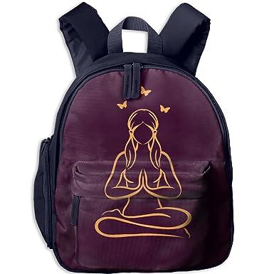 Amazon.com: Namaste Yoga posición de loto patrón de ...