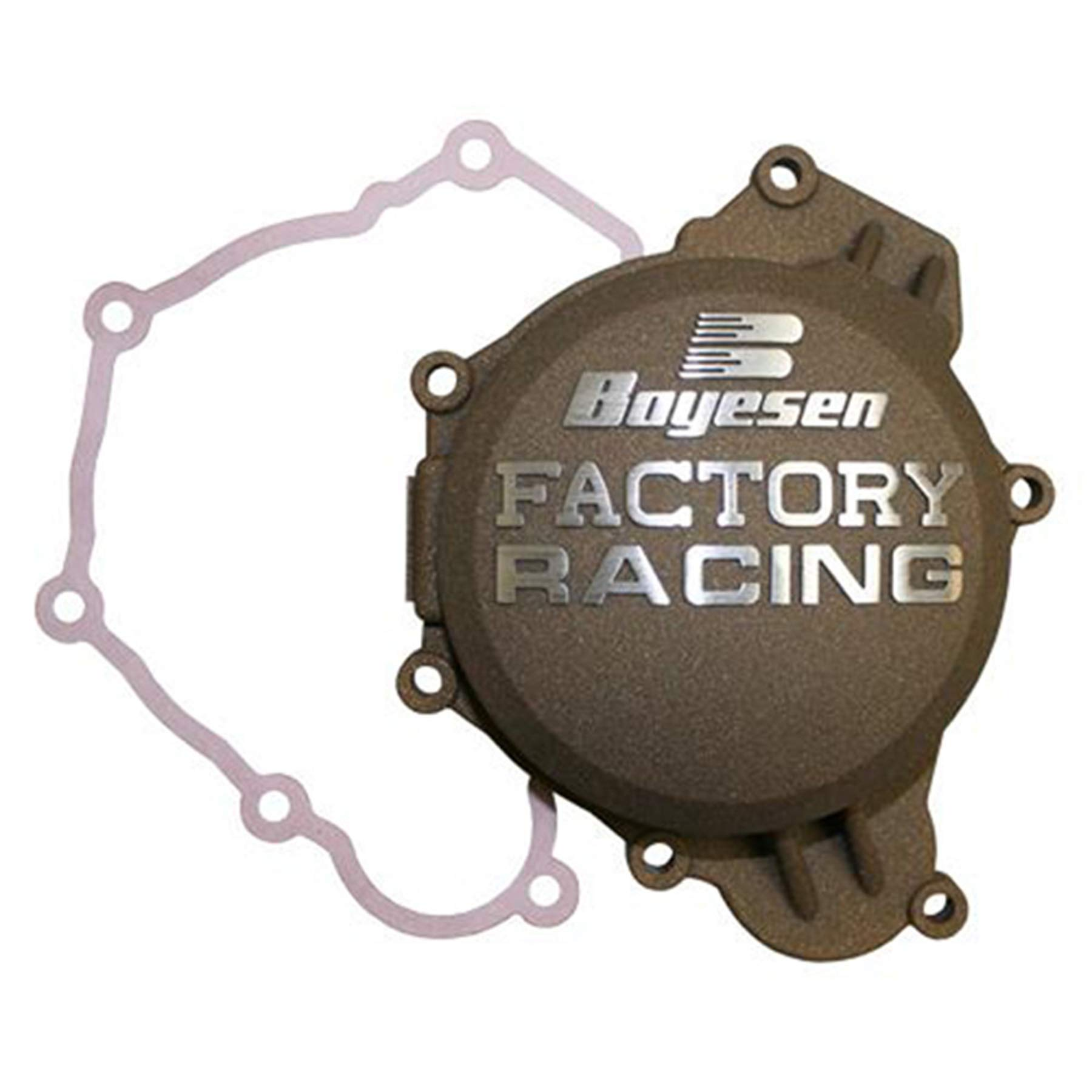 Factory Ignition Cover - Magnesium 2016 Husqvarna TE125 Offroad Motorcycle