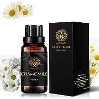 Aromatherapy Chamomile Essential Oil, 1oz - 30ml Aromatherapy Essential Oil Chamomile Scent for Diffuser, Humidifier, Therapeutic Grade Chamomile Fragrance Essential Oil for Massage, Home