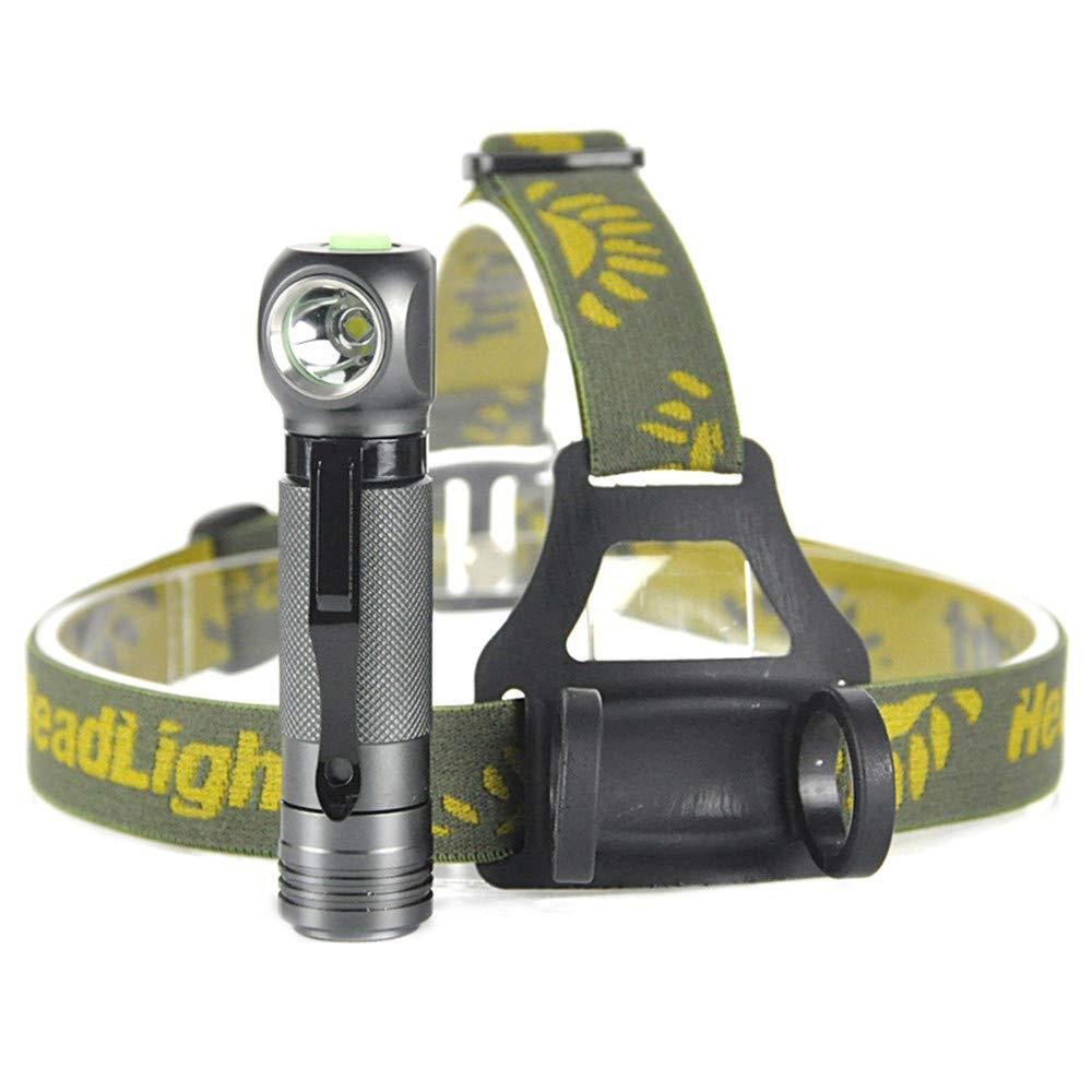 MLMHLMR LED-Scheinwerfer 3 Modus Wasserdichte Taschenlampe Taschenlampe