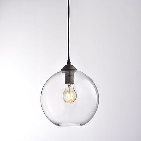 NUEVO estilo vintage industrial retro Loft - Lámpara redonda ...