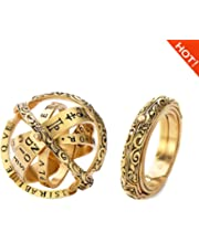 Globe Ring Openable Ring Astronomical Globe Ring Special Earth Ring Merging Ring Retro Science Explosion Celestial Body Jewelry Set Outsta 2019 Fashion Jewelry Hot Sale Gold Gifts for Her