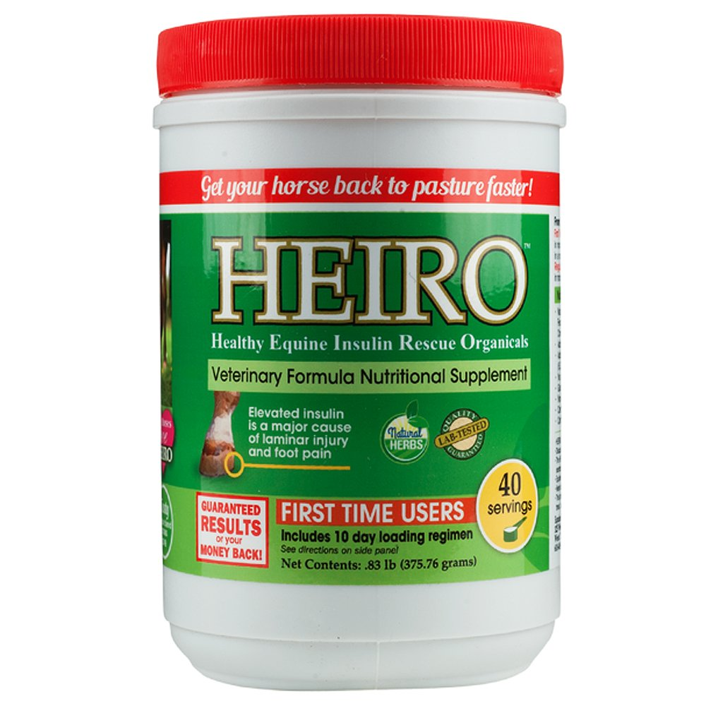 Heiro Healthy Equine Horse Insulin Resistant Rescue Organicals 30, 40, 60,  90, or 180 Day Supply