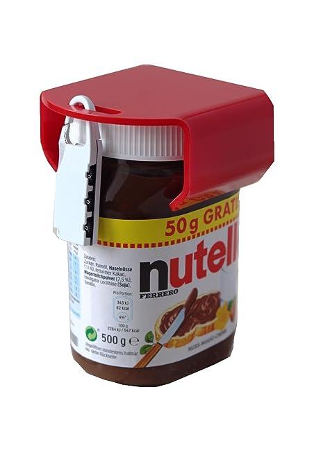 Chocosafe Nutella Lock Red With White Padlock Amazon Co Uk