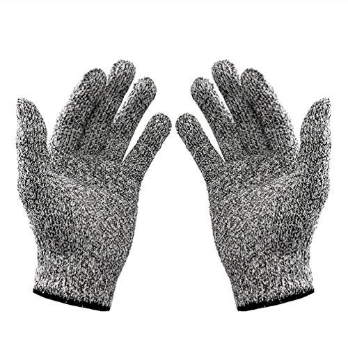 modelshow haute performance Niveau 5Coupe Protection Anti Gants de travail de qualité alimentaire de sécurité Coupe résistant gants de protection pour le jardin de cuisine