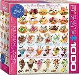 EuroGraphics Ice Cream Flavors Jigsaw Puzzle (1000-Piece)