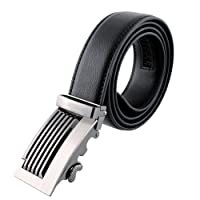 Fashion Mens Automatic Buckle Leather Waist Belts
