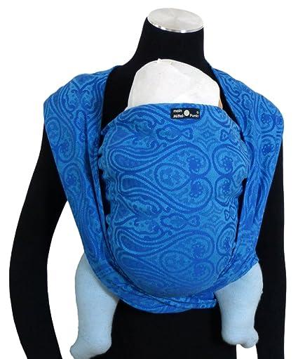 DIDYMOS Ornement Echarpe de Portage Bleu Taille 5  Amazon.fr  Bébés    Puériculture 8cbb01828a2