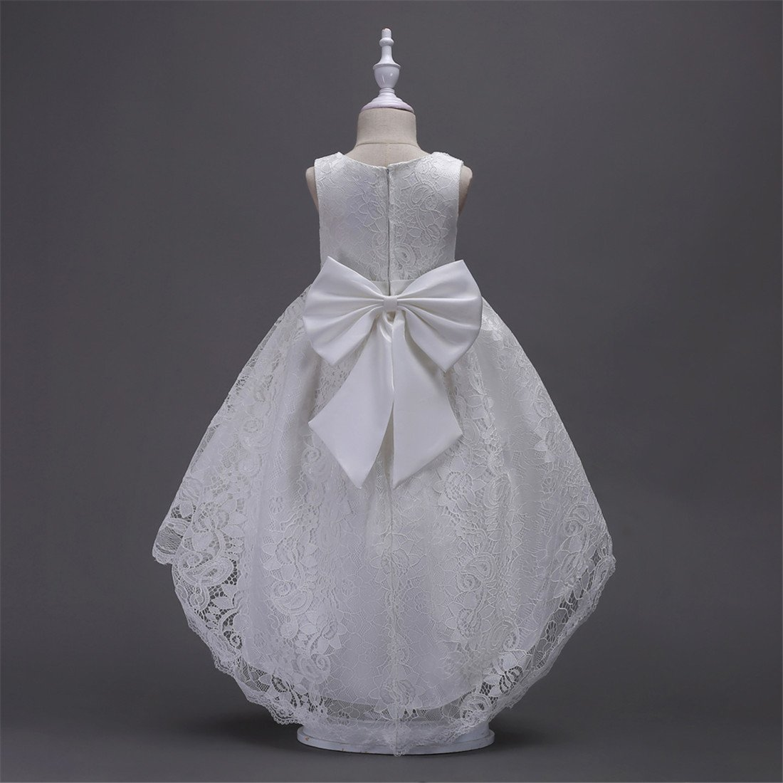 FKKFYY 2-14 Years Girl Wedding Party Graduation Long Tail Tutu Dresses FKKFYY32SD4S
