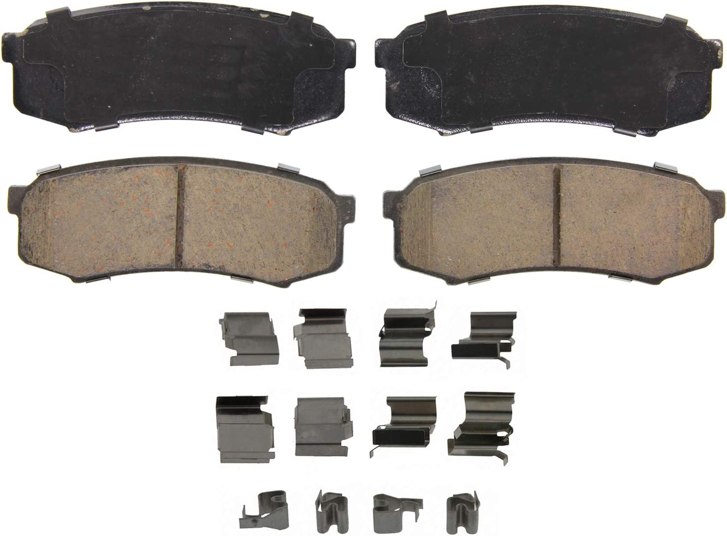 Wagner QuickStop ZD1861 Ceramic Disc Brake Pad Set