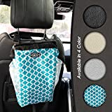 The Keep it Clean CarBage - Auto Trash Can - Auto Litter Bag - Auto Garbage Bin - Car Trash Pail - Great for Cars - Boats & RV's (Teal)