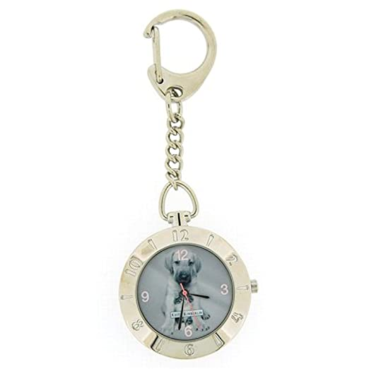 Reloj Llavero Keith Kimberlin para Niñas Carátula Redonda en ...