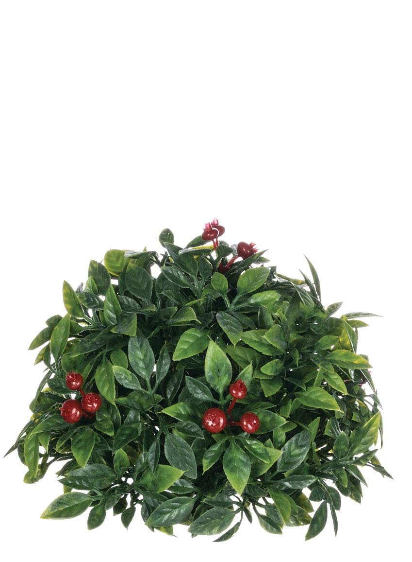 Sullivans Tea Leaf Berry 12 Orb Decor