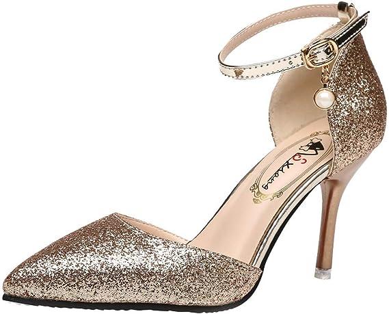 Shoes Ladies Elegant Slim High Heels