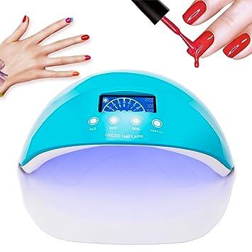 Amazon.com: 50 W secador de uñas lámpara de uñas secador de ...