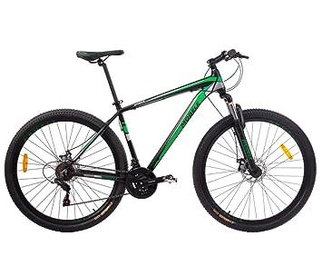 2800aa57a Bicicleta MTB Aro 29 21V Alumínio Quadro 19 Câmbio Shimano Rhino Verde