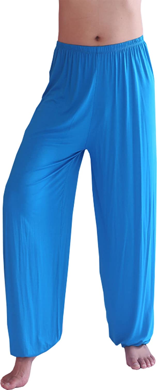 HOEREV®Men's Super Soft Modal Spandex Harem Yoga/ Pilates Pants