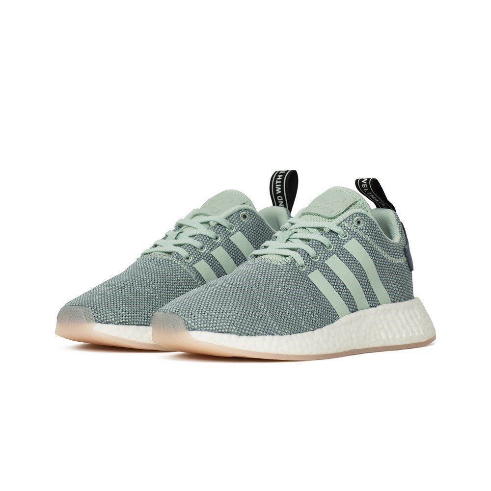 6748355ef adidas NMD R2 W - CQ2010 - Color Grey-Light Blue-Blue - Size  6.5   Amazon.co.uk  Shoes   Bags