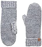 Bickley & Mitchell Women's Thermal Knit Mitten with Faux Sherpa Lining, Indigo, One Size