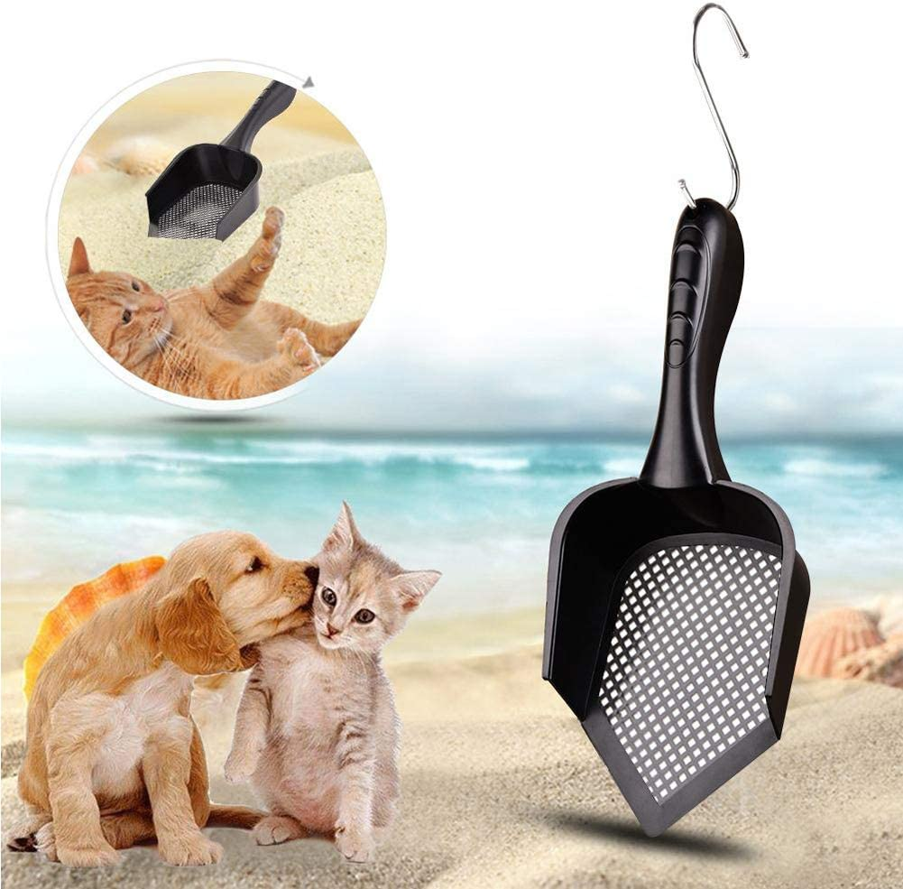 Funny Go Cat Litter Scoop With Small Hole For Sifting