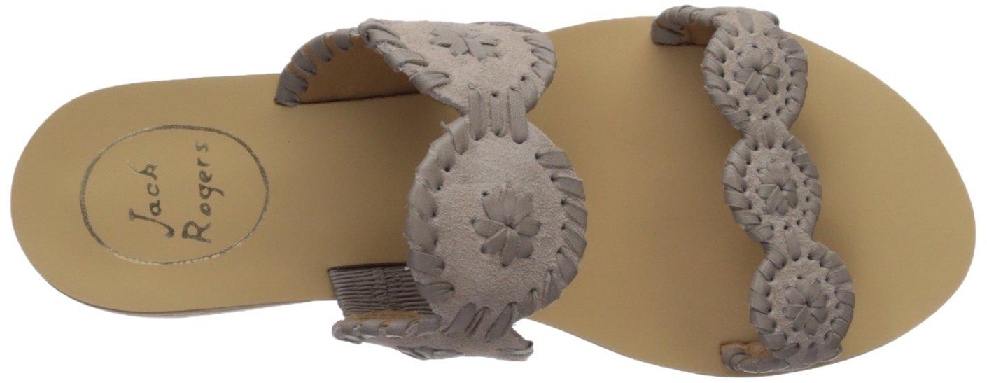 Jack Rogers Women's Lauren Suede Slide Sandal Grey B074XSMRBJ 6 B(M) US|Dove Grey Sandal 9d5add