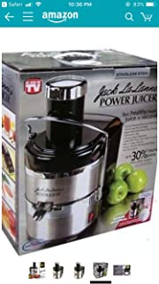 Amazon.com: Jack LaLanne JLPJB Power Juicer Juicing Machine ...