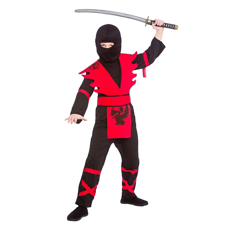 Wicked Costumes - Disfraz de ninja para niños Talla 11-13 ...