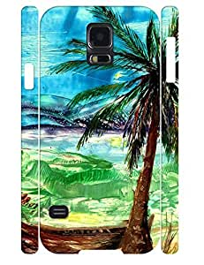Simple Fashion Oil Painting Theme Anti Drop Phone Cover Case for Samsung Galaxy S5 I9600