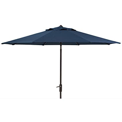 c0221d99ee Members Mark Sunbrella 10 Ft. Patio Market Umbrella With Auto Tilt Navy  Blue (Indigo)