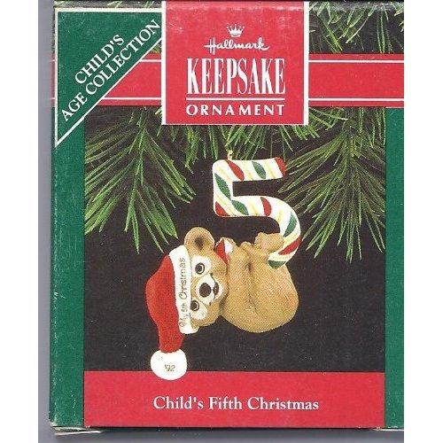 HALLMARK 1992 CHILDS FIFTH CHRISTMAS