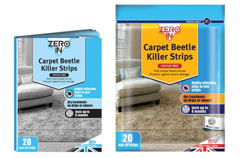 Zero In Teppichkäfer-Killer-Streifen 20Streifen