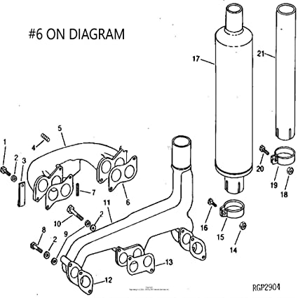 John Deere 425 Engine Diagrams