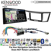 Volunteer Audio Kenwood DNX874S Double Din Radio Install Kit with GPS Navigation Apple CarPlay Android Auto Fits 2013-2014 Honda Civic