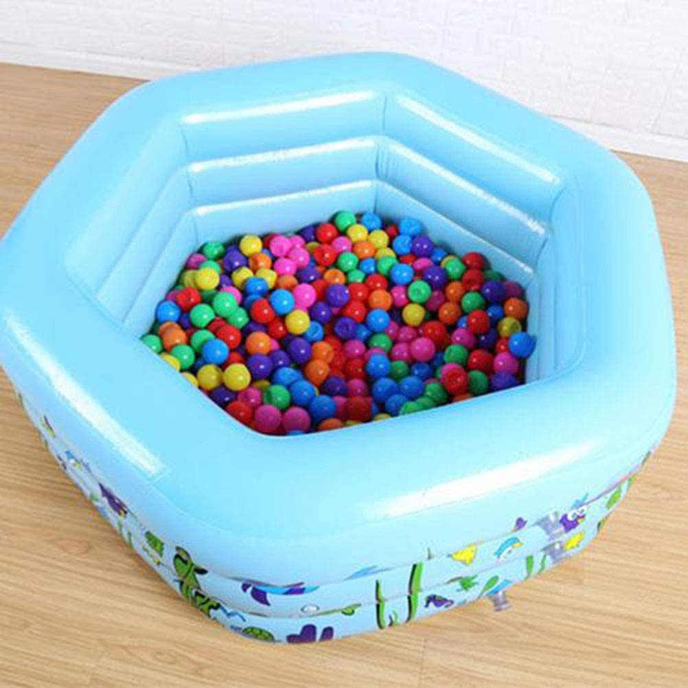 Piscina hinchable para familias, piscina infantil hinchable para jardín al aire libre (133 x 130 x 50 cm): Amazon.es: Hogar