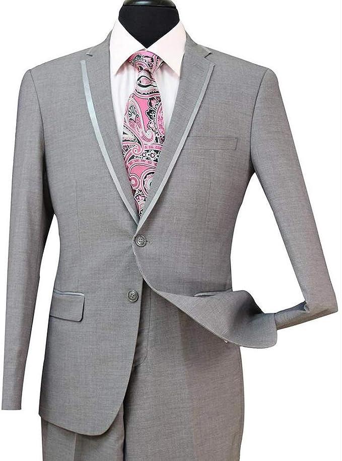 42S Ralph Lauren 2 Button Notch Tuxedo Package Classic Formal Prom Wedding Suit