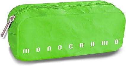 Pigna 0230656 - Estuche sobre monocromo efecto papel verde: Amazon.es: Oficina y papelería