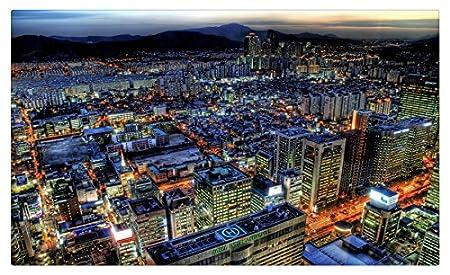 Corea del Sur. Seúl ciudades muebles & decoración imán imanes de ...