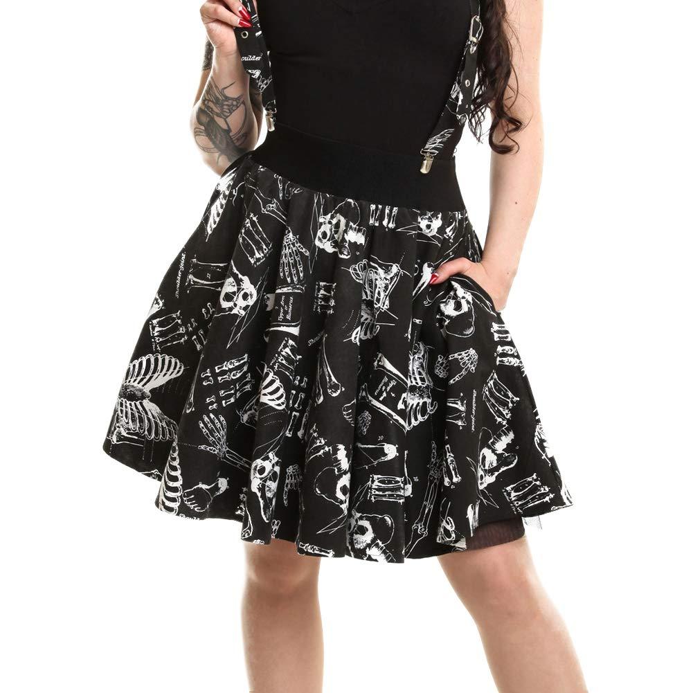 Amazon Vixxsin Womens Anatomy Skirt Black S Clothing
