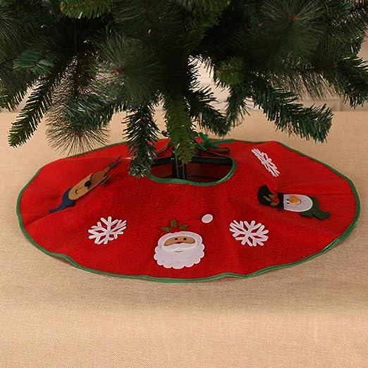 LASISZ Delantal de árbol Apliques de Santa Decoración de árbol de ...