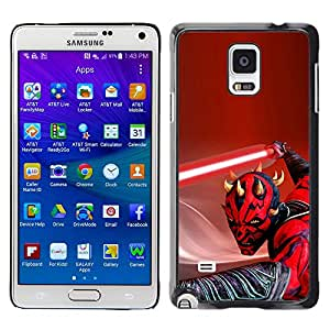 Stuss Case / Funda Carcasa protectora - Darth Mutilar Light Saber - Samsung Galaxy Note 4