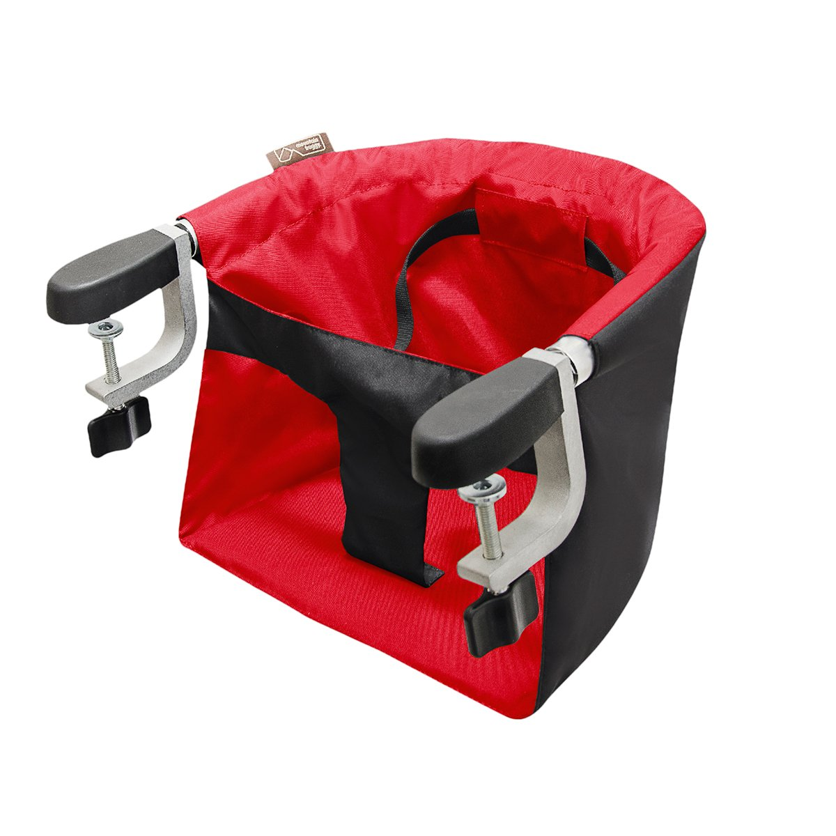 Mountain Buggy Pod Clip-on Highchair, Chili, 1 Pack POD-V2-11