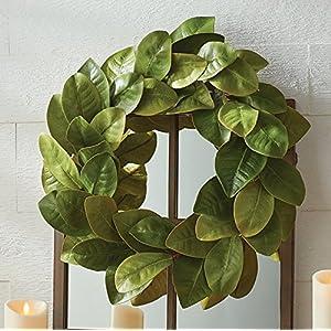 "Raz 24"" Magnolia Leaf Wreath W3702123 15"